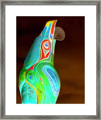 Totem 49 Framed Print by Randall Weidner