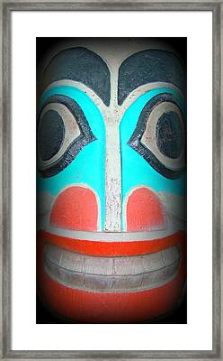 Totem 5 Framed Print