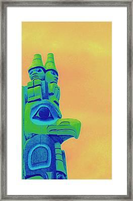Totem 50 Framed Print by Randall Weidner