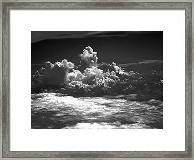 Totem Cloud Framed Print