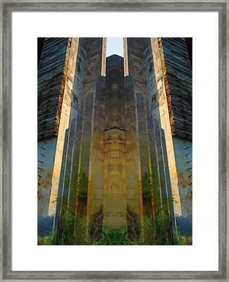 Totem Framed Print by Michele Caporaso