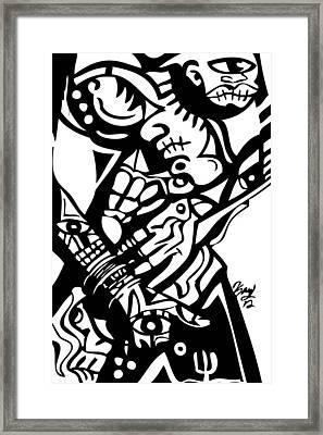 Touch It Framed Print by Kamoni Khem
