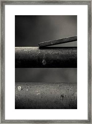 Touch Framed Print by Odd Jeppesen