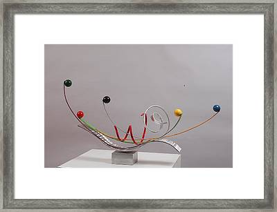 Touch To Play - Edition 2 Framed Print by Mac Worthington