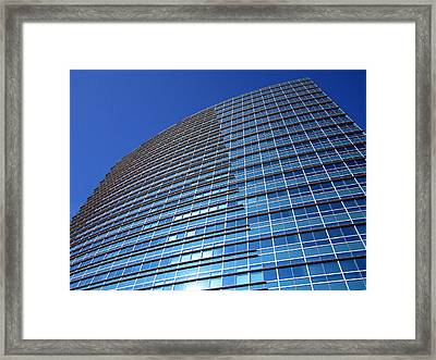 Touching The Sky Framed Print by Barry Jones