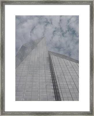 Touching The Sky Framed Print by Cathy Brown