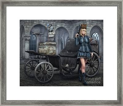 Tough Lady Framed Print by Jutta Maria Pusl
