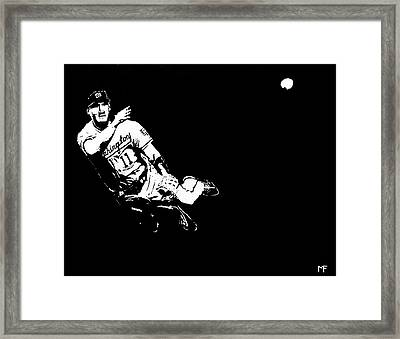 Tough Play Framed Print by Matthew Formeller