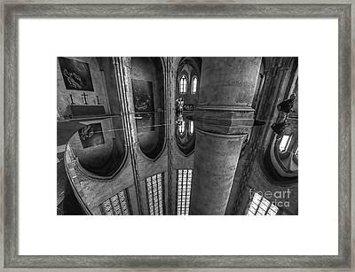 Framed Print featuring the photograph Toulouse Reflections I by Jack Torcello