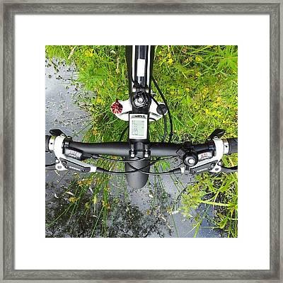 Tour De Agua Framed Print