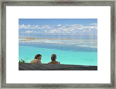 Tourism Framed Print by Matthew Oldfield