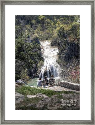 Tourist View Framed Print by Fred Lassmann