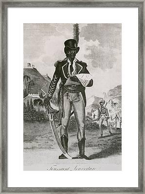 Toussaint Louverture 1843-1803 Leader Framed Print