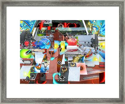 Tow Framed Print by Dave Kwinter