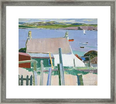 Towards Mull Framed Print by Francis Campbell Boileau Cadell