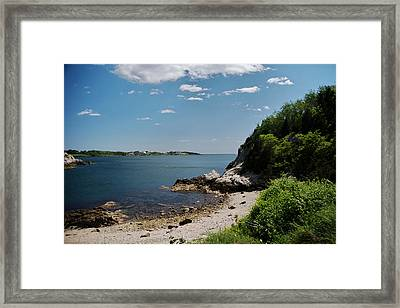 Towards Newport Framed Print