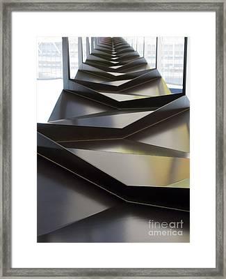 Towards The Future Framed Print by Ausra Huntington nee Paulauskaite