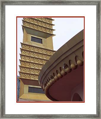 Tower And Rotunda Framed Print by Susan Alvaro