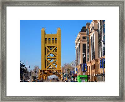 Tower Bridge 4 Framed Print by Barry Jones