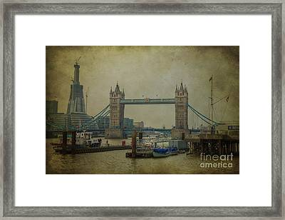 Tower Bridge. Framed Print by Clare Bambers
