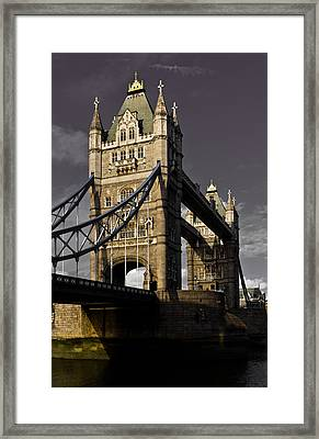 Tower Bridge Framed Print by David Pyatt