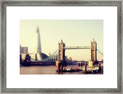 Tower Bridge Framed Print by Eva Millan Photography