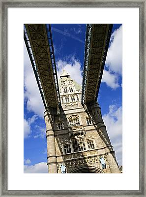 Tower Bridge In London Framed Print