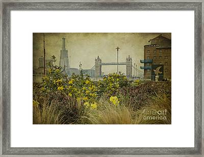 Tower Bridge In Springtime. Framed Print by Clare Bambers