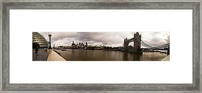 Tower Bridge Framed Print by Keith Sutton