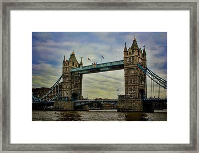 Tower Bridge London Framed Print by Heather Applegate