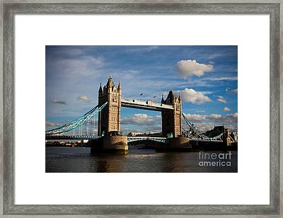 Tower Bridge Framed Print by Steven Gray