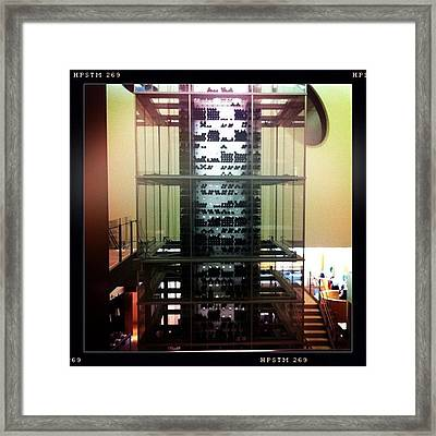 Tower Of Wine Framed Print