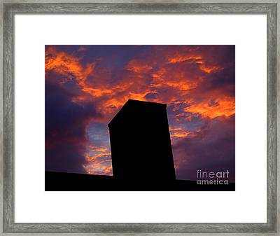 Towering Inferno  Framed Print by Tammy Cantrell
