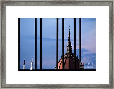 Towers Framed Print by Odon Czintos