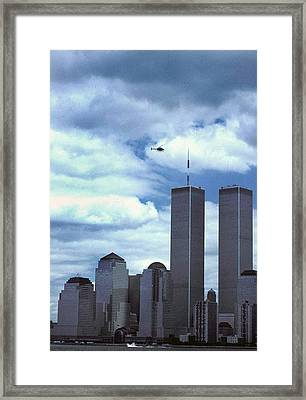 Towers Framed Print by Skip Willits