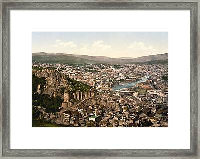 Town Fortress In Tbilisi - Georgia Framed Print by International  Images