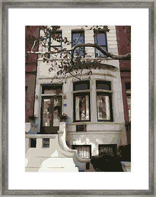 Townhouse Color 16 Framed Print by Scott Kelley