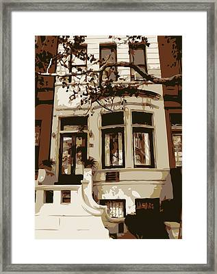 Townhouse Color 6 Framed Print by Scott Kelley