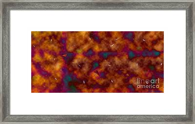 Toxic Sky Framed Print