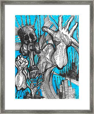 Toxin's  Framed Print by Jon Baldwin  Art