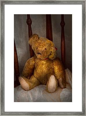Toy - Teddy Bear - My Teddy Bear  Framed Print
