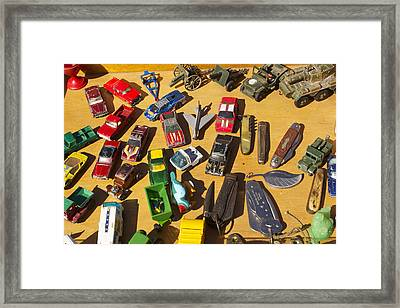 Toy Cars Framed Print by Michael Clarke JP