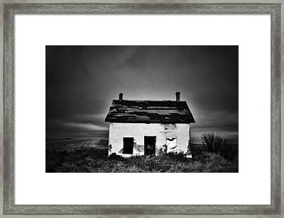 Toy On The Prairie Framed Print by Jerry Cordeiro