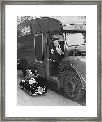 Toy Rolls Royce Framed Print by Harry Todd