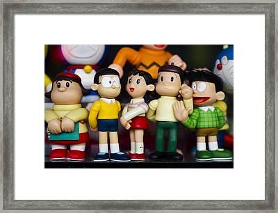Toys Framed Print by Kemal Nurgeldiyev