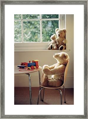 Toys Framed Print by Lawrence Lawry