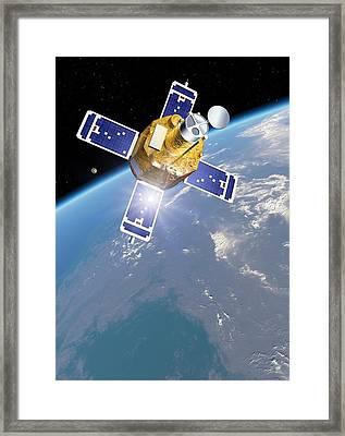 Trace Observatory Framed Print by Detlev Van Ravenswaay