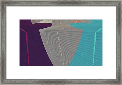 Trace Framed Print