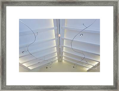 Track Lighting Framed Print by Jeremy Woodhouse