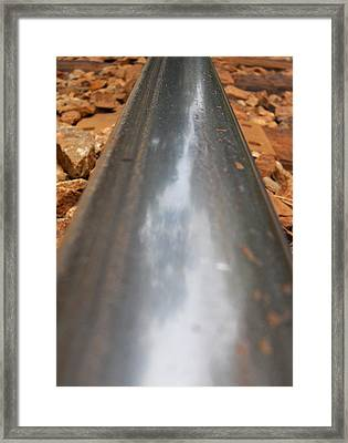 Track Of Ogun 2 Framed Print